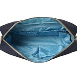 "Laptop Bag Dark 15"" Blue Denim"