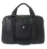 "Laptop Bag 15"" Black Croco"