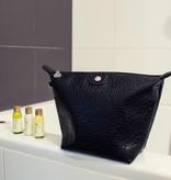 Cosmetics Bag Black Croco