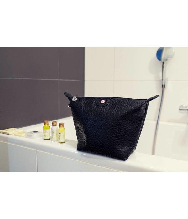 Toilet Purse Black Croco