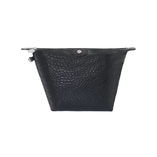 Toilet Purse Black Croco