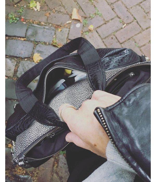 "Laptoptas 15"" Zwart Croco"