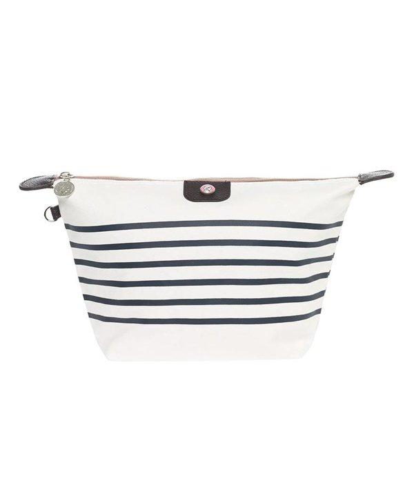 Toilet Purse Sailor White-Blue