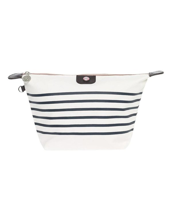 Toilettas Sailor Wit-Blauw