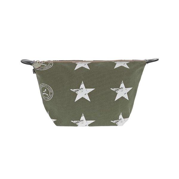 Cosmetics Bag Stars Army