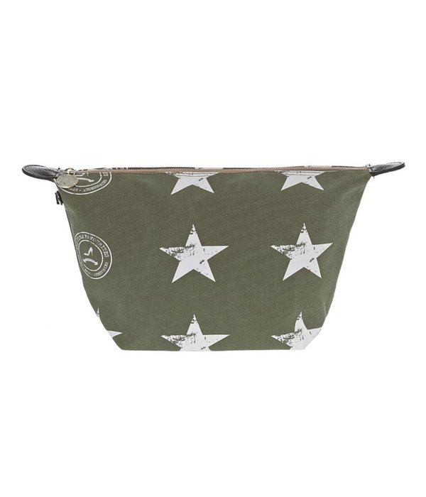 Cosmetics Bag Stars Army