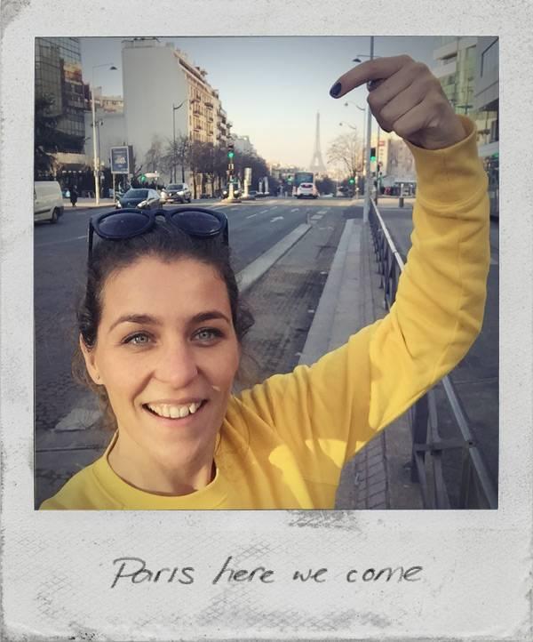 Paris here we come!