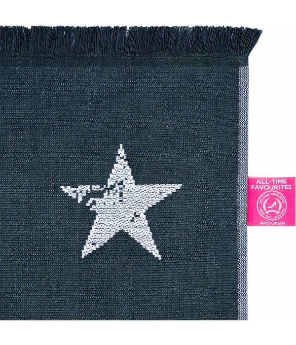 Hammamdoek Stars Blauw