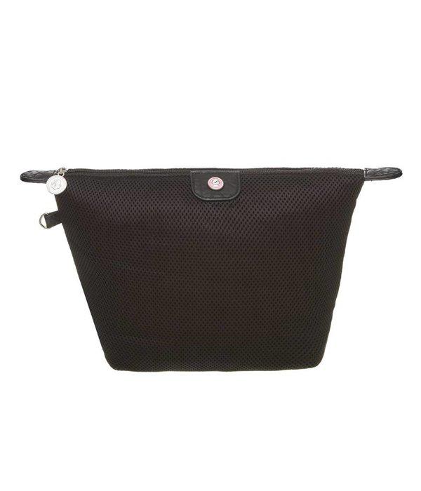 Cosmetics Bag Mesh Black
