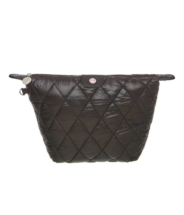 Cosmetics Bag Quilted Black