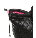 Small Shopper Quilted Black