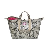 Kleine Shopper Python Naturel