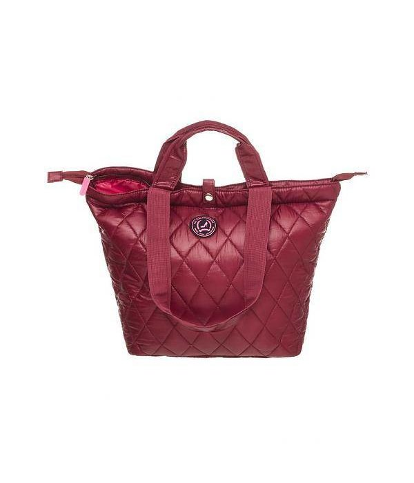 Small Shopper XS Quilted Burgundy