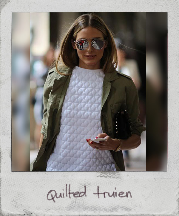 quilted truien