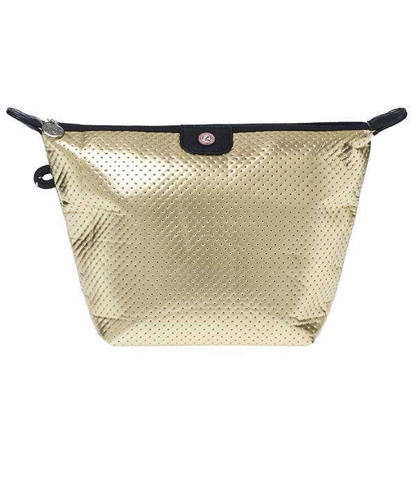 Cosmetics Bag Neoprene Gold
