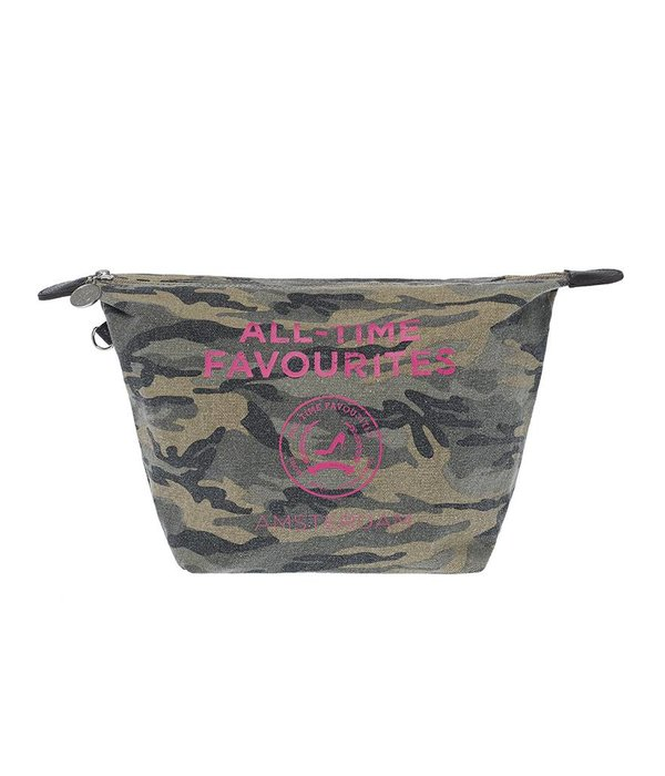 Toilet Purse Washed canvas Camouflage