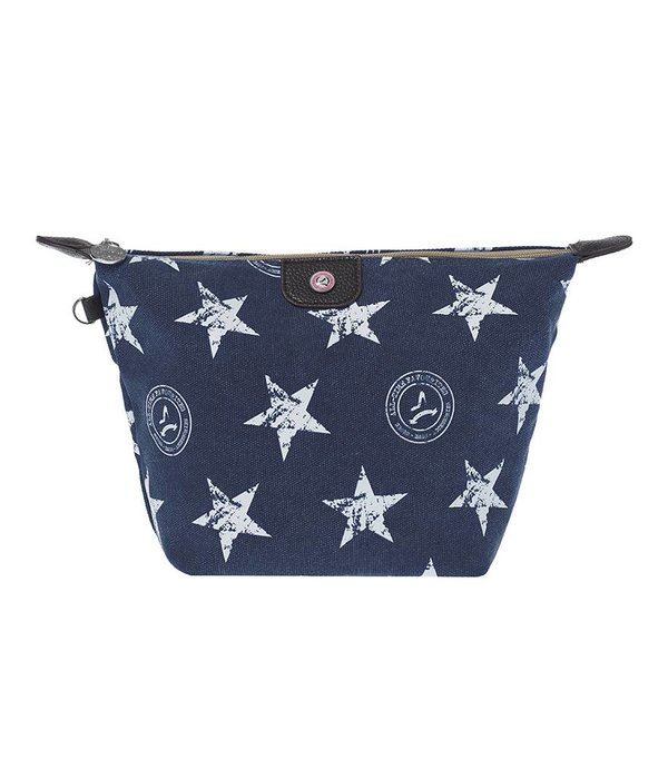Cosmetics Bag Stars Blue