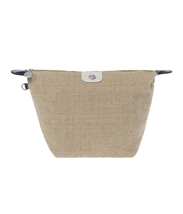 Toilettas Jute White/Navy