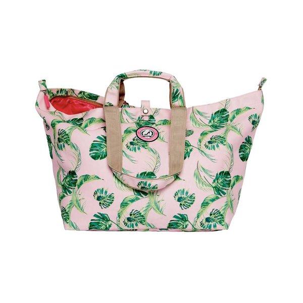 Kleine Shopper Palm Leaves roze