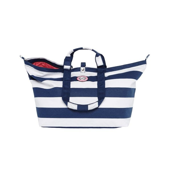Small Shopper Stripes Navy