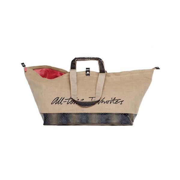 Grote Shopper Jute Navy
