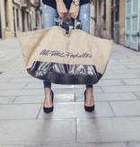 Big Shopper Jute Navy