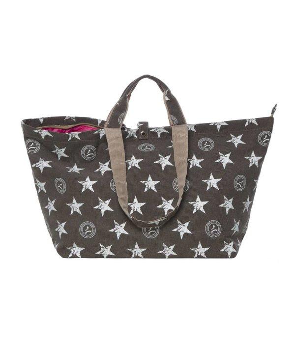 Kleine Shopper Stars Grijs