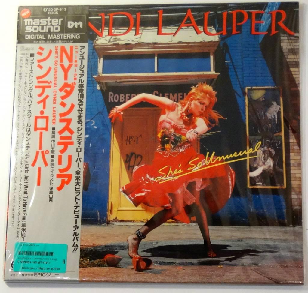 Cyndi Lauper She so Unusual Vinyl Epic Cyndi Lauper – She's so