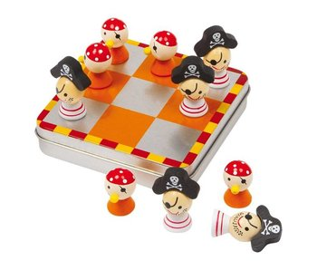 "Small Foot Tic Tac Toe Magnetisch ""Piraten"""