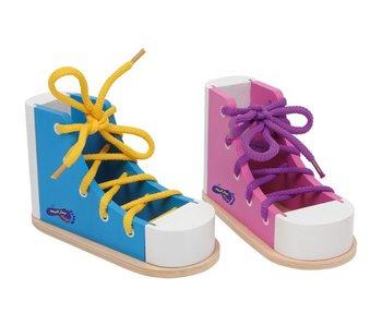 Small Foot Design Houten Rijgschoen