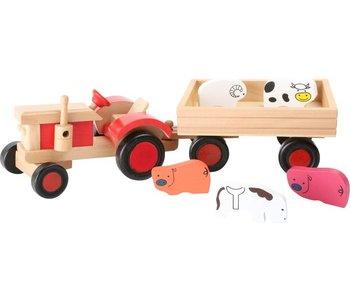 Tractor met dieren