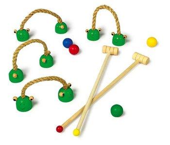"Small Foot Croquet spel ""Kikker"""