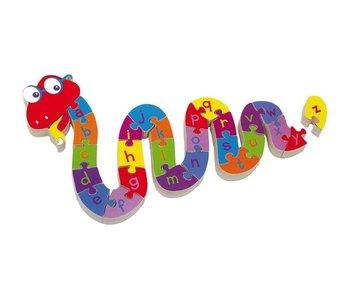 """Small Foot Puzzel """"Alfabet Slang"""""""