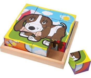 """Small Foot Blok Puzzel """"Huisdieren"""""""