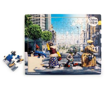 "Small Foot Design Puzzel ""Shaun het Schaap Abbey Road"""