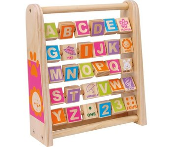 "Small Foot Alfabet Flip-board ""Engels"""