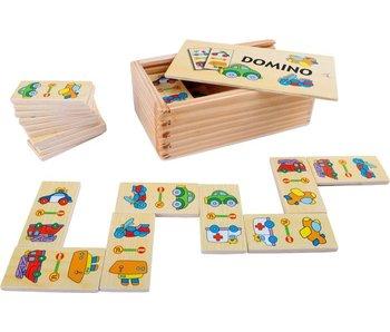 """Small Foot Domino """"voertuigen"""""""