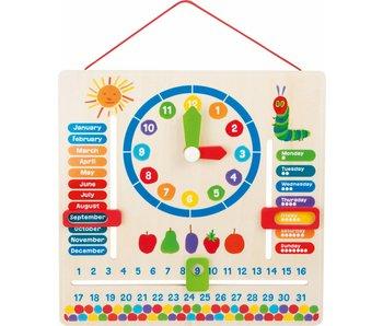 kalenderklok Rupsje Nooitgenoeg