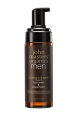 John Masters John Masters Eucalyptus Agave 2-in-1 Wash & Shave Foam