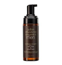 John Masters Organics 2-in-1 Wash & mousse à raser