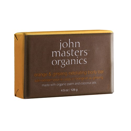 John Masters John Masters Orange and Ginseng Exfoliating Body Bar