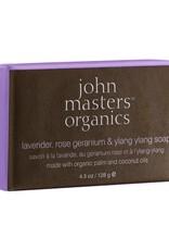 John Masters John Masters Lavender Rose Geranium Ylang Ylang Seife