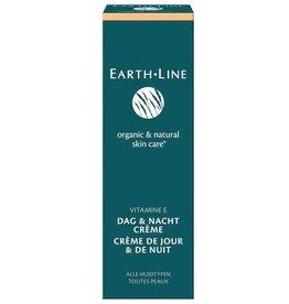 Earth Line Vitamin E Tages- und Nachtcreme Tube