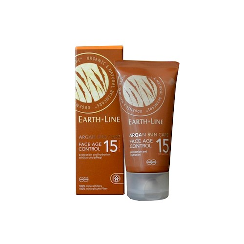 Earth Line Earth Line Argan Bio Sonnenpflege Gesicht SPF15 Age Control