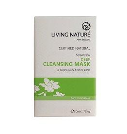 Living Nature Masque nettoyant désincrustant
