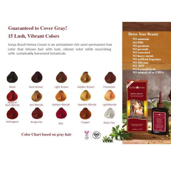 Surya Brasil Henna Cream Burgundy Order Now De Groene Drogist