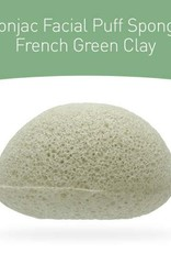 Konjac Sponge Konjac Sponge Premium Gesichts Puff Französischem Grünem Ton