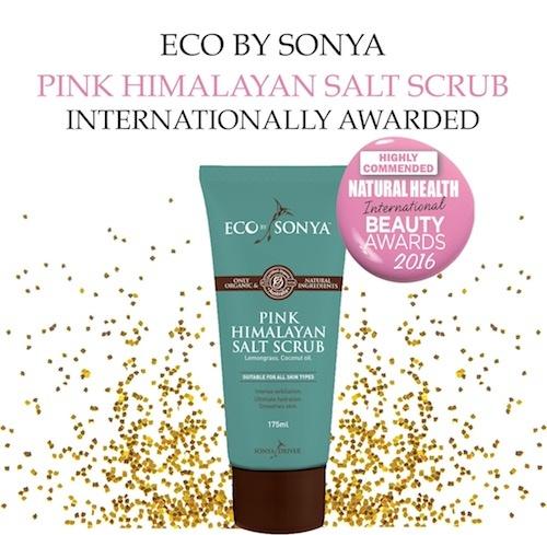 eco by sonya Eco Tan Pink Himalayan Salt Scrub