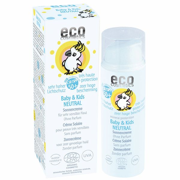 Eco Cosmetics Eco Cosmetics Baby & Kinder LSF 50 Sonnencreme ohne Parfum