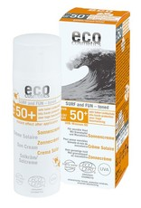 Eco Cosmetics Eco Cosmetics Surf & Fun Extra Wasserfestigkeit Sonnenschutz getönt SPF50 +